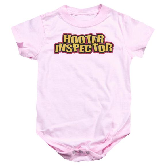 Hooter Inspector Infant Snapsuit Pink Lg