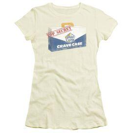White Castle Crave Case Short Sleeve Junior Sheer T-Shirt