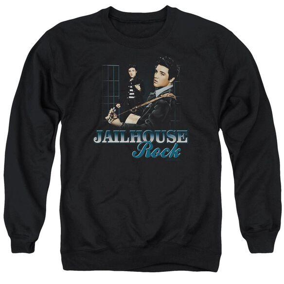 Elvis Jailhouse Rock Adult Crewneck Sweatshirt