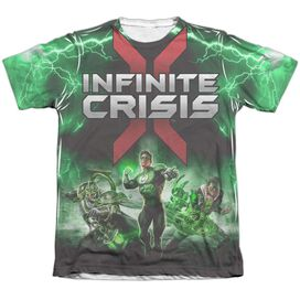 Infinite Crisis Ic Green Lantern Adult Poly Cotton Short Sleeve Tee T-Shirt