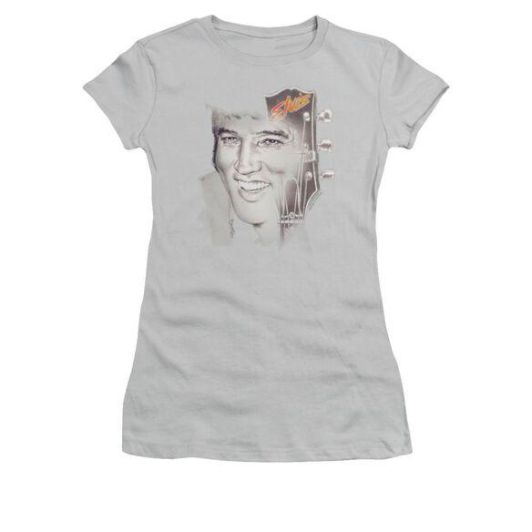 Elvis Smile 2 Short Sleeve Junior Sheer T-Shirt