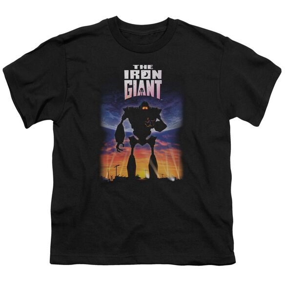 Iron Giant Poster Short Sleeve Youth T-Shirt