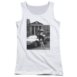 Back To The Future Ii Einstein Juniors Tank Top