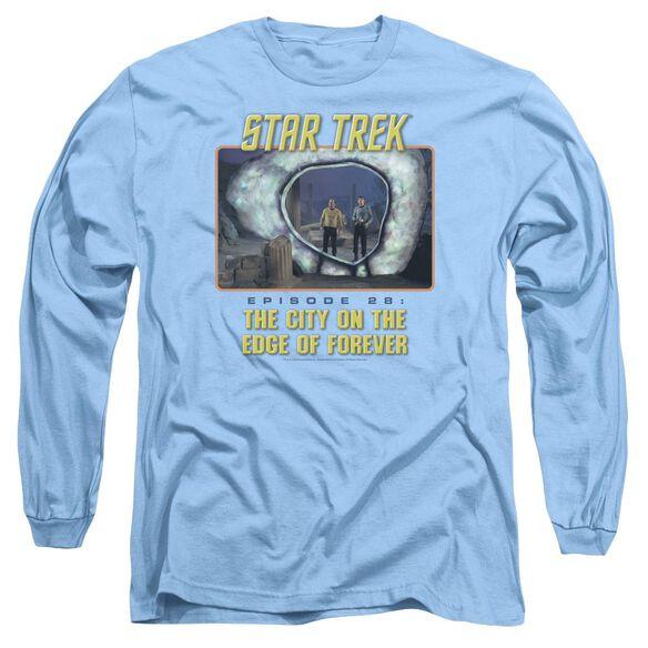 St Original Edge Of Forever Long Sleeve Adult Carolina T-Shirt
