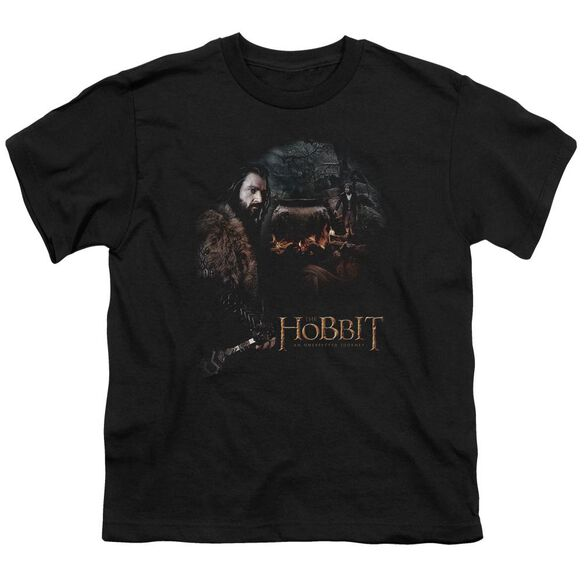 The Hobbit Cauldron Short Sleeve Youth T-Shirt