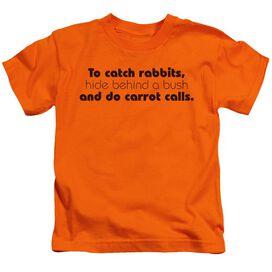 To Catch Rabbits Short Sleeve Juvenile T-Shirt