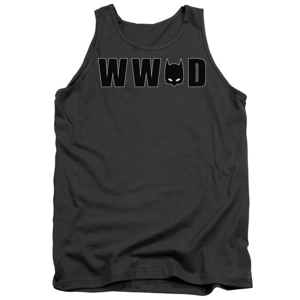 Batman Wwbd Mask Adult Tank