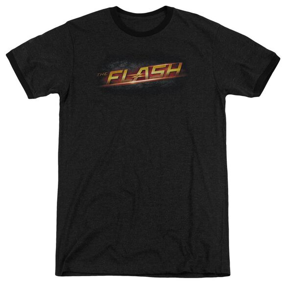 The Flash Logo Adult Heather Ringer
