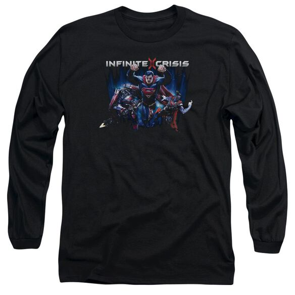 Infinite Crisis Ic Super Long Sleeve Adult T-Shirt