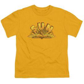 Sun Rockin Rooster Logo Short Sleeve Youth T-Shirt