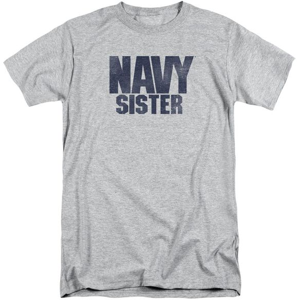 Navy Sister Short Sleeve Adult Tall Athletic T-Shirt
