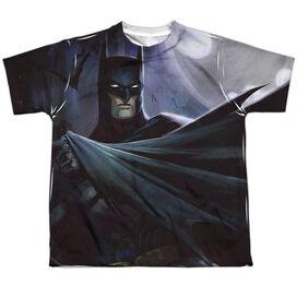 Infinite Crisis Batman Vs Joker Short Sleeve Youth Poly Crew T-Shirt