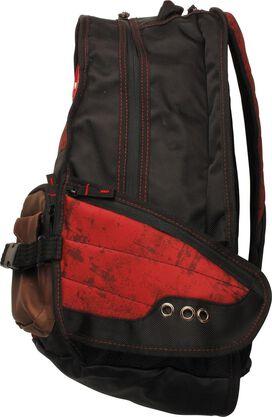 Deadpool Logo Mesh Laptop Backpack