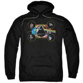 Pink Floyd Dark Side Heads Adult Pull Over Hoodie