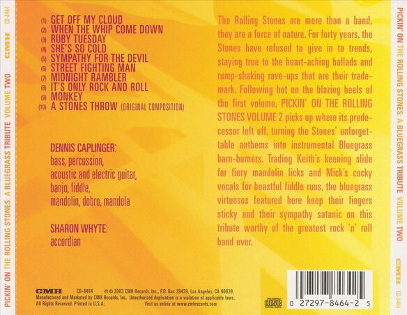 Pickin On Rolling Stones 2 / Various