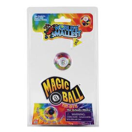 World's Smallest Magic 8 Ball Tie Dye Game