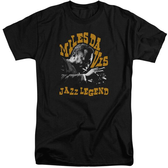 Miles Davis Jazz Legend Short Sleeve Adult Tall T-Shirt