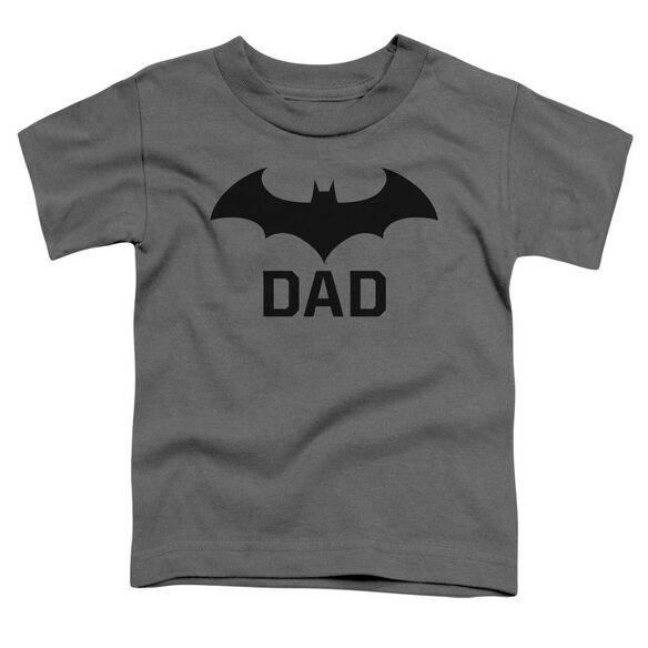 Batman Hush Dad Short Sleeve Toddler Tee Charcoal T-Shirt
