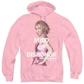 Bridesmaids Maid Of Dishonor - Adult Pull-over Hoodie - Pink - Lg - Pink