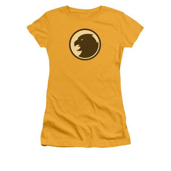 Dco Hawkman Symbol Short Sleeve Junior Sheer T-Shirt