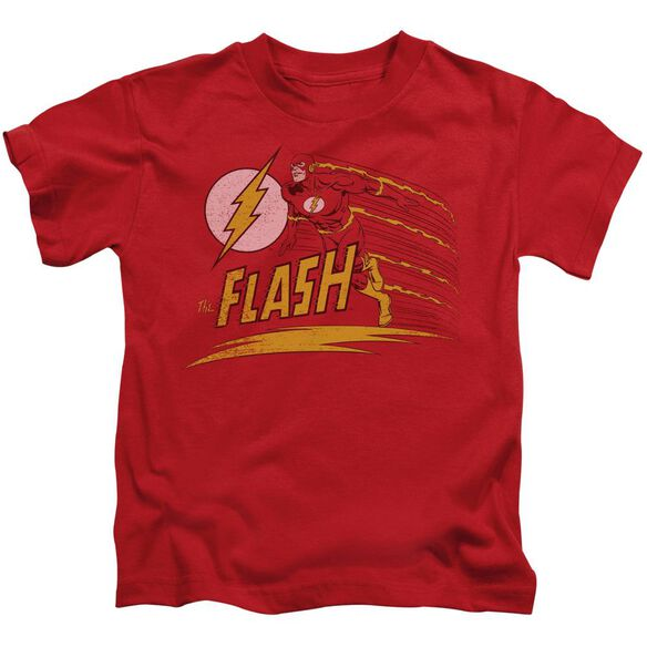 Dc Like Lightning Short Sleeve Juvenile Red Md T-Shirt