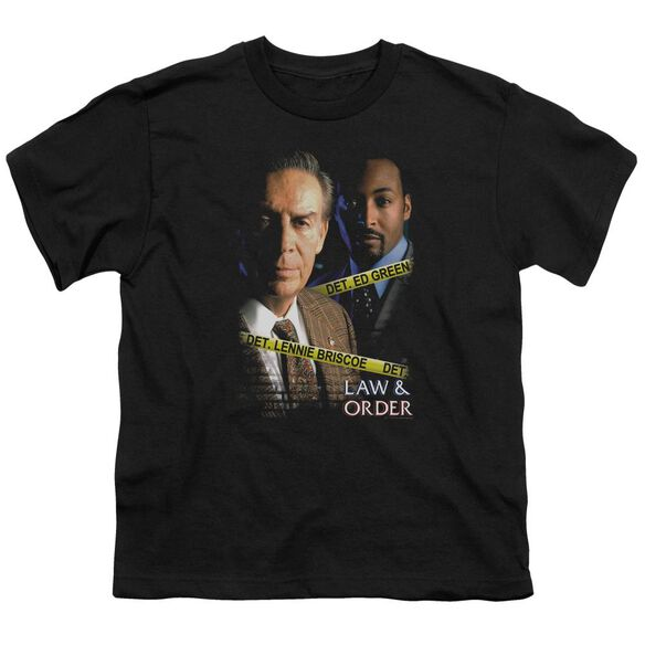 Law And Order Briscoe And Green Short Sleeve Youth T-Shirt