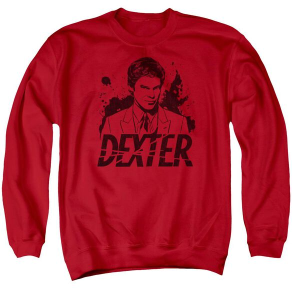 Dexter Splatter Dex Adult Crewneck Sweatshirt