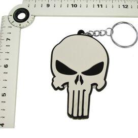 Punisher Movie Skull PVC Keychain