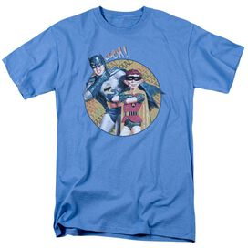 Mad Batman And Alfred Short Sleeve Adult Carolina T-Shirt