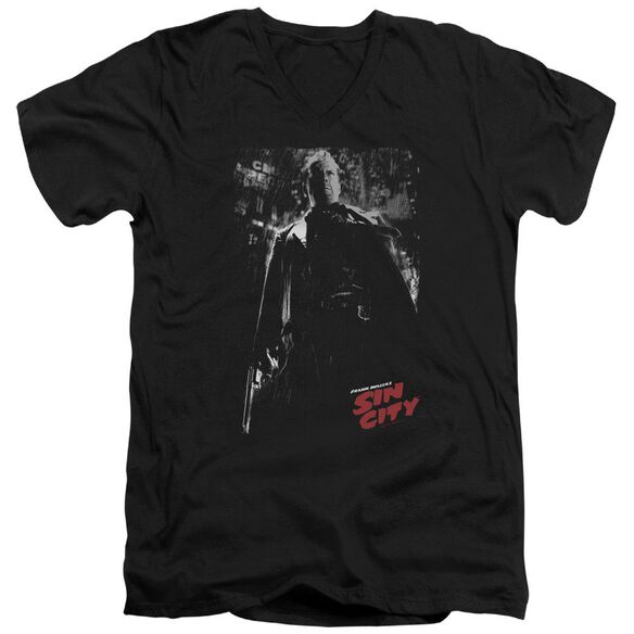 Sin City Hartigan Short Sleeve Adult V Neck T-Shirt
