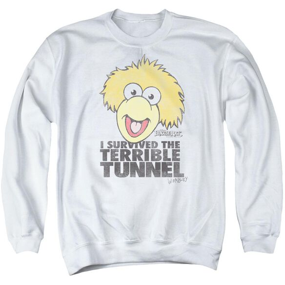 Fraggle Rock Terrible Tunnel Adult Crewneck Sweatshirt
