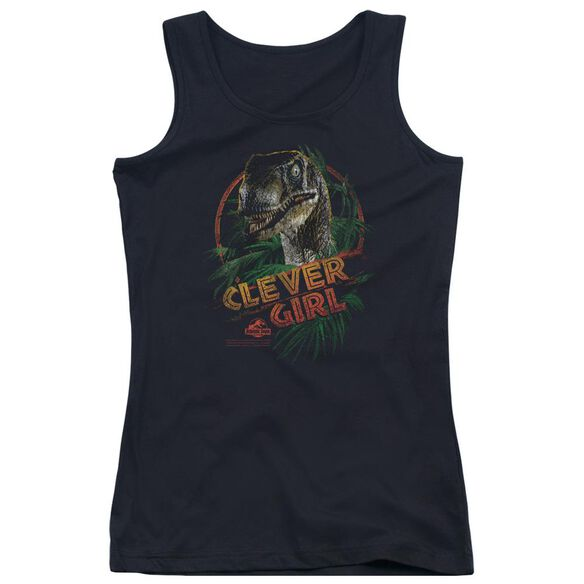 Jurassic Park Clever Girl Juniors Tank Top
