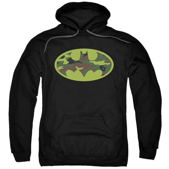 Batman Camo Logo Adult Pull Over Hoodie