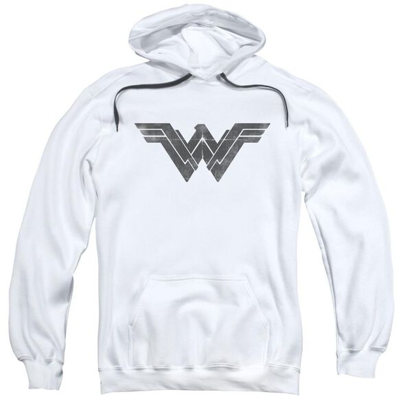 Batman V Superman Folded And Distressed Adult Pull Over Hoodie