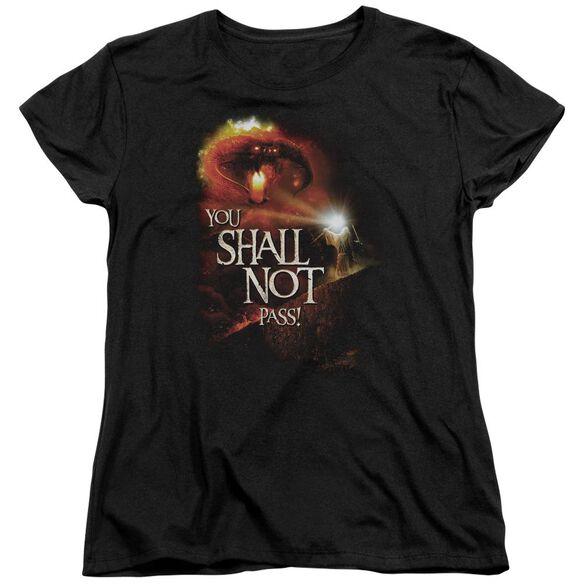 Lor You Shall Not Pass Short Sleeve Womens Tee T-Shirt