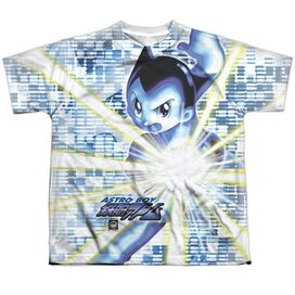 Astro Boy Beams Short Sleeve Youth Poly Crew T-Shirt