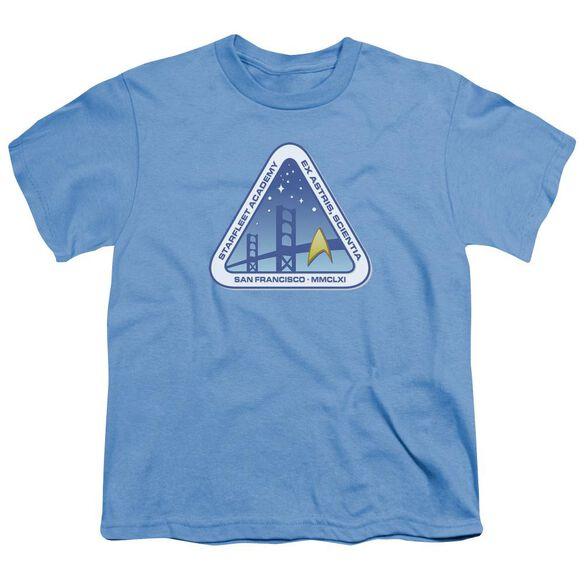 Star Trek Color Logo Short Sleeve Youth Carolina T-Shirt