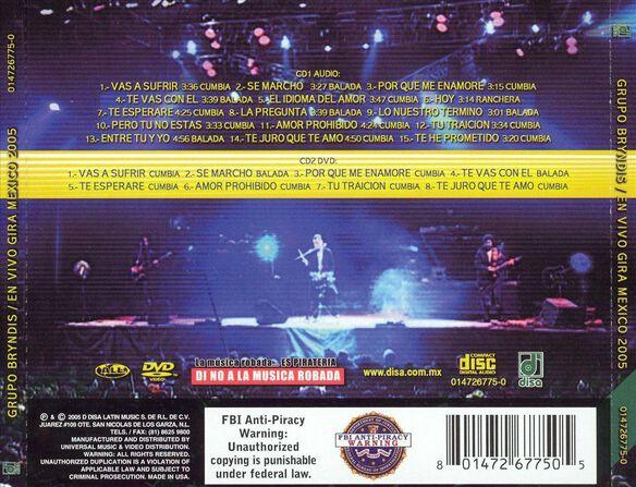 En Vivo Gira 2005(Cd/Dvd)