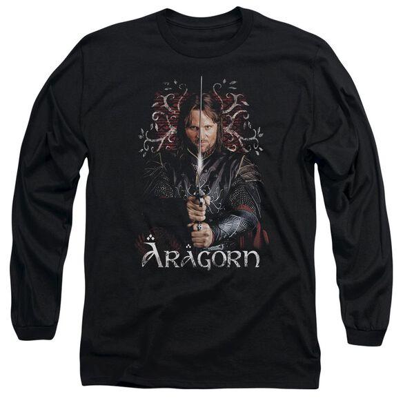 Lor Aragorn Long Sleeve Adult T-Shirt