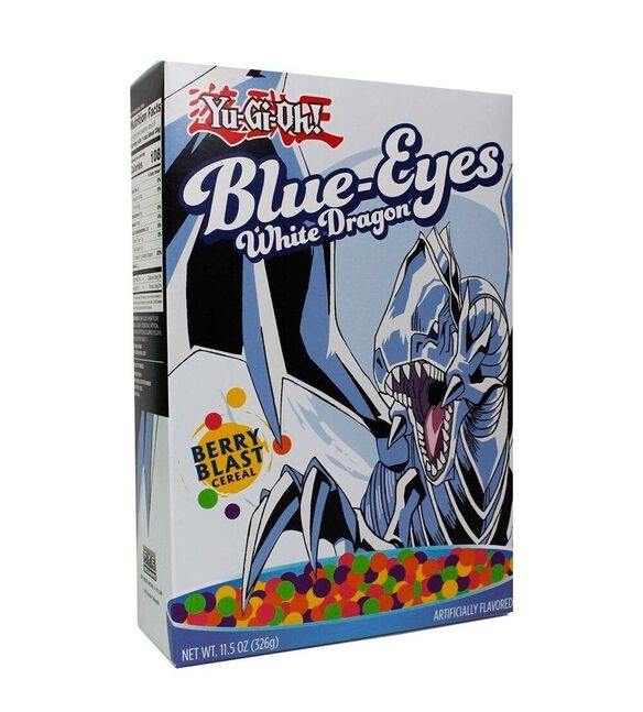 Blue Eyes White Dragon Yu-Gi-Oh Cereal