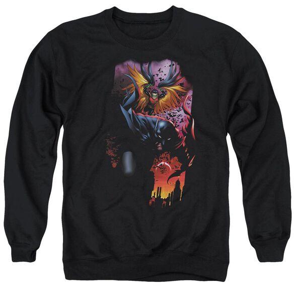 Batman Batman &Amp; Robin #1 Adult Crewneck Sweatshirt