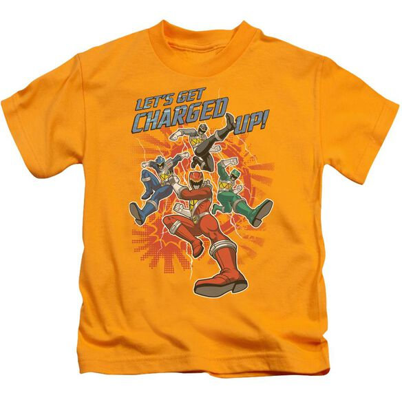 Power Rangers Charged Up Short Sleeve Juvenile T-Shirt
