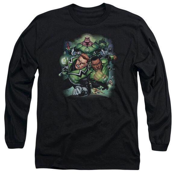 Green Lantern Corps #1 Long Sleeve Adult T-Shirt