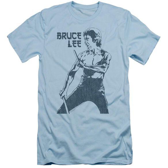 Bruce Lee Fighter Short Sleeve Adult Light T-Shirt