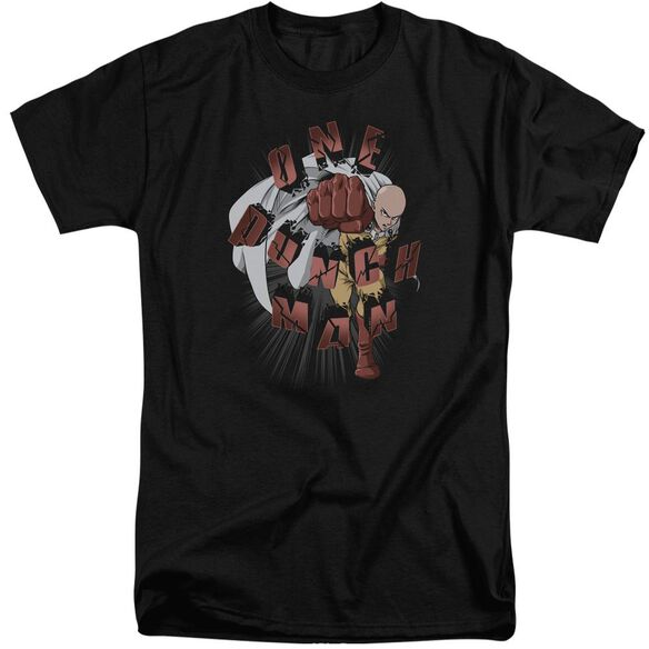 One Punch Man One Punch Short Sleeve Adult Tall T-Shirt