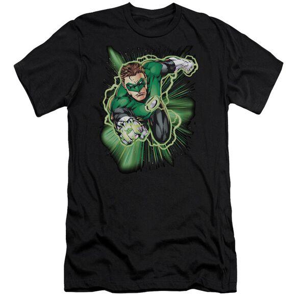 Jla Green Lantern Energy Premuim Canvas Adult Slim Fit