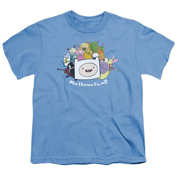 Adventure Time Mathematical Short Sleeve Youth Carolina T-Shirt