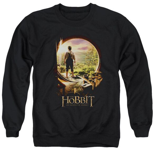 The Hobbit Hobbit In Door Adult Crewneck Sweatshirt