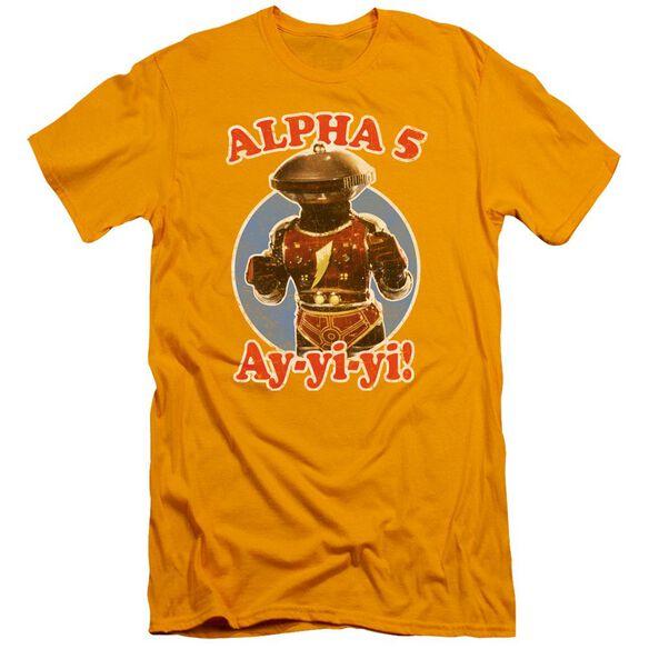 Power Rangers Alpha 5 Short Sleeve Adult T-Shirt