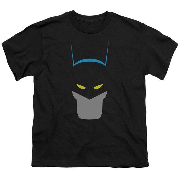Batman Simplified Short Sleeve Youth T-Shirt